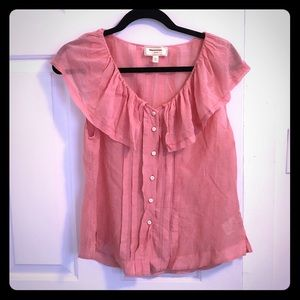 Anthro top sz 12